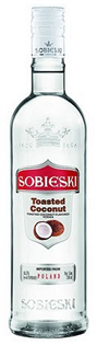 Sobieski Vodka Toasted Coconut 1.00l